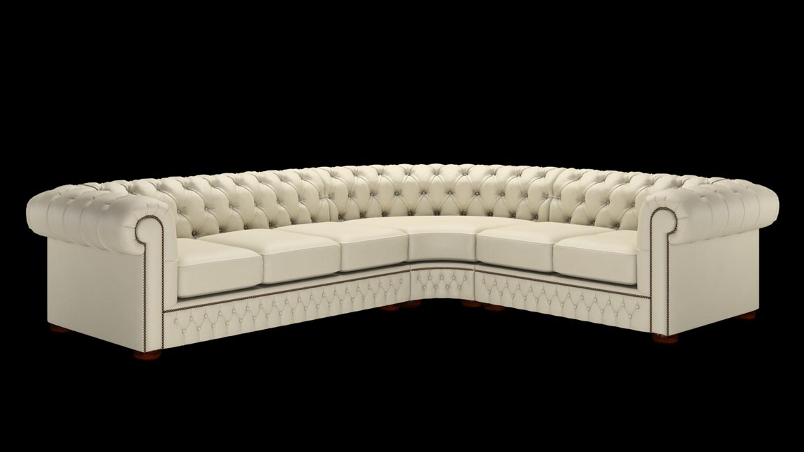 Chesterfield Corner Sofa 3x 2